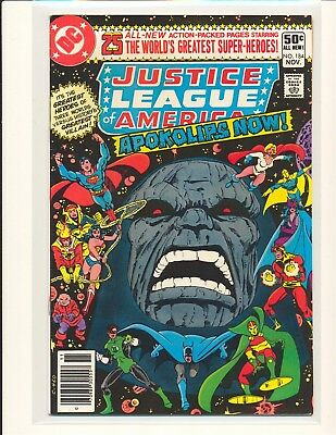 Justice League of America # 184 - Darkseid cover & story VF+ Cond.