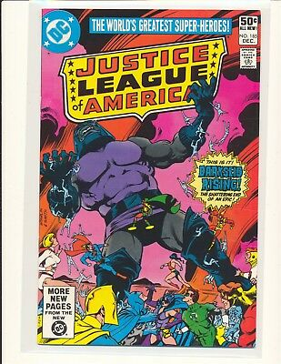 Justice League of America # 185 - Darkseid cover & story VF Cond.