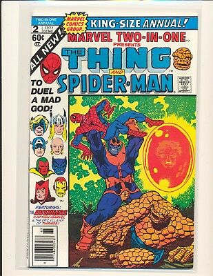 Marvel Two-In-One Annual # 2 - Death of Thanos VF/NM Cond.