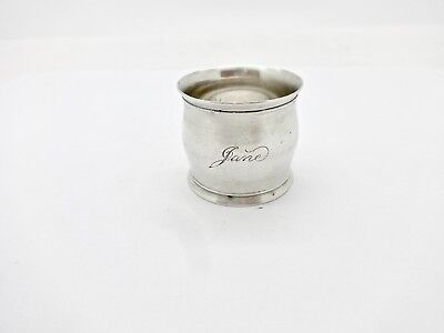 Antique Tiffany & Co. Sterling Silver Napkin Ring,jane