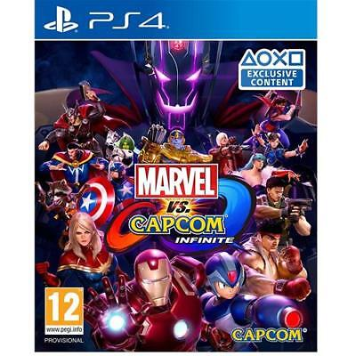 Marvel Vs Capcom Infinite PS4 Game for Sony PlayStation 4 New & Sealed UK PAL