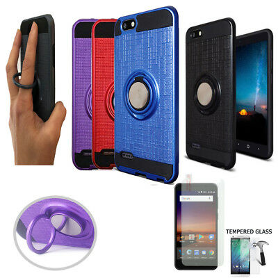 PROTECH ARMOR SHOCKPROOF Cover Phone Case For [Zte Zfive C