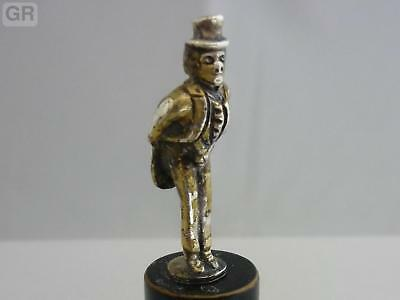 Stunning Rare Antique Chester Sterling Silver Victorian Figurine Statue By CS*FS
