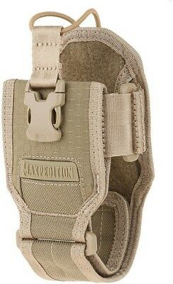 Maxpedition RDPTAN Tan AGR RDP Radio Pouch 1 TacTie PJC3 Clip