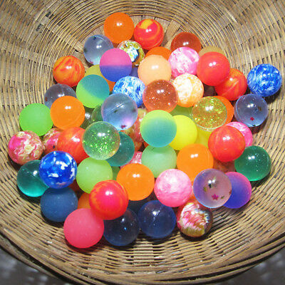 10Pcs/Lots  25mm Bouncy Ball Bouncing Balls Rubber Elastic Outdoor Kid Toys Gift