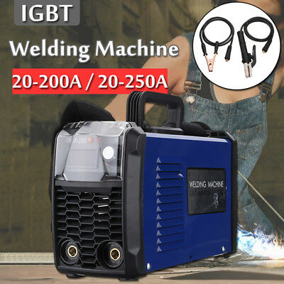 MMA Electric Welder 220V 200A IGBT Inverter ARC Welding Machine Digital Ampermet