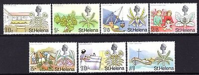 St. Helena QE2  1968  10d to £1 SG234-40 LM/Mint