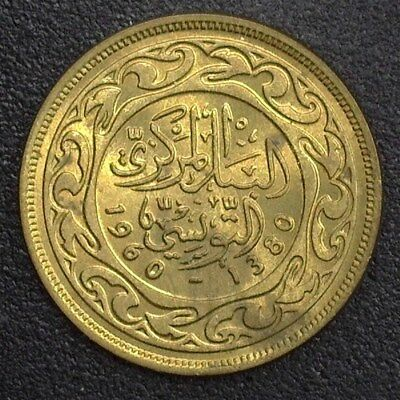 Tunisia 1960 10 Millimes  Gem+ Uncirculated  Km#306