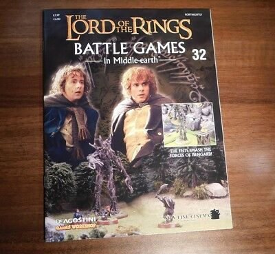 LORD OF THE RINGS Battle Games in Middle-earth Magazine Issue 32
