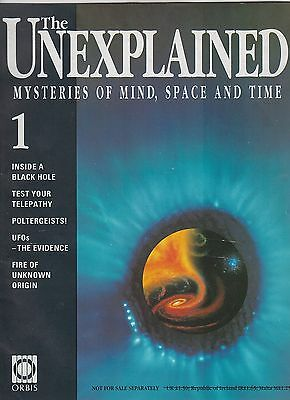 The Unexplained #1  =  Mysteries Of Mind, Space & Time  =