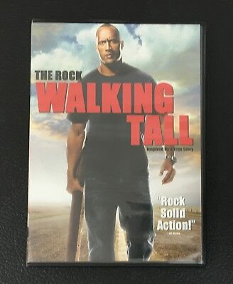 Walking Tall DVD Widescreen The Rock, Johnny Knoxville