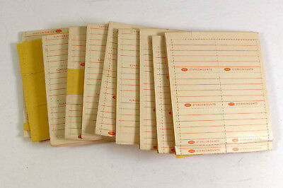 Lots of EMDE labels for Stereo Realist slides, adhesive paper – MU