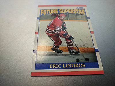 1990-91 Score Hockey Eric Lindros #440 Rookie Great Price!