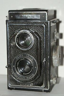 Zeiss Ikon Ikoflex II TLR Camera With 75mm F3.5 Tessar,Offered For Spares/Repair