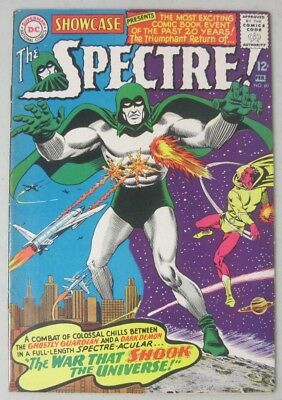 Showcase #60 1St Silver Age Appearance Of The Spectre Dc Comics 1966 Gardner Fox