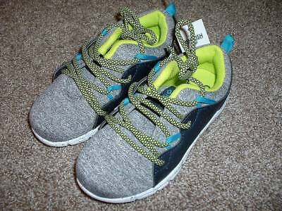 76bab45a185d OSHKOSH B GOSH BOYS Kids Gray Green Shoes Sneakers Size 11 NWT NEW ...
