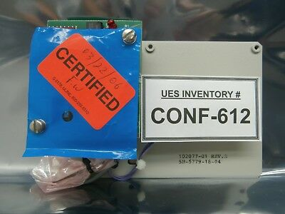 SVG Silicon Valley Group 102077-01 Door Closed Switch PCB Assembly Refurbished