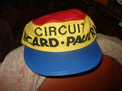 casquette circuit paul ricard authentique non copie /  du tour de france vintage