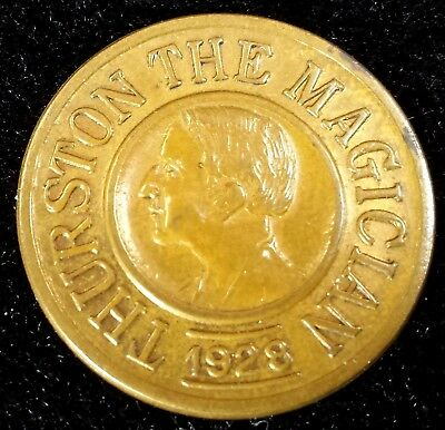 Magic Token 1928 Thurston the Magician Good Luck Charm Kuethe MT 323