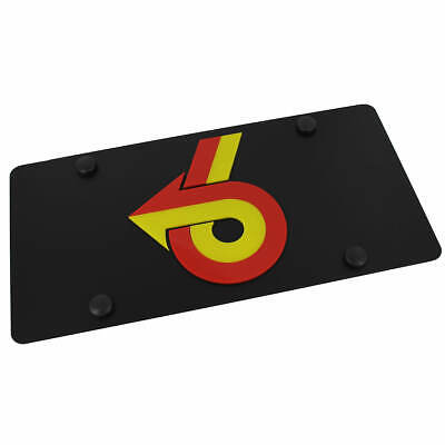 Buick Grand National On Carbon Stainless Steel License Plate