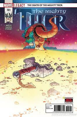 Mighty Thor #701 Marvel Legacy Death Of Mighty Thor! Pt 2 Asgard James Harren
