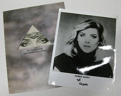 DEBBIE HARRY KooKoo 1981 Promo PRESS KIT Blondie CHIC Devo H.R. GIGER New Wave
