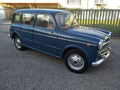 Fiat 1100 Famigliare , Station Wagon Sold With Uk Registration