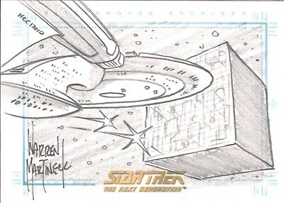 Star Trek Tng Quotable Various Insert Chase Autograph Sketch Costume Dual Choose