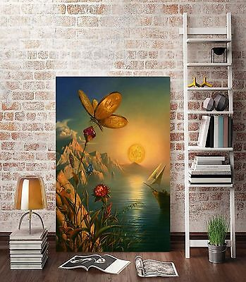 CHOP22 charming 100% hand-painted oil painting landscape decor art on canvas-