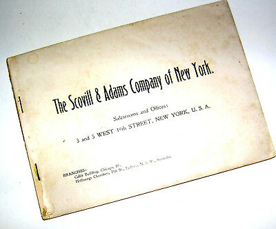 Vintage Scovill & Adams Co., NY SOLOGRAPH Cameras Priced & Illustrated Catalog