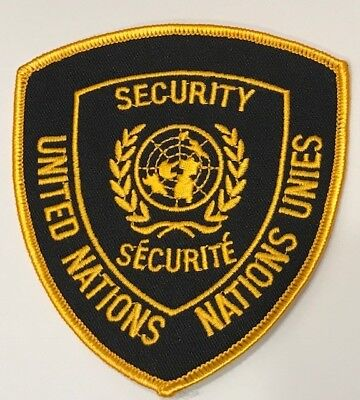 Patch Polizei - Security United Nations