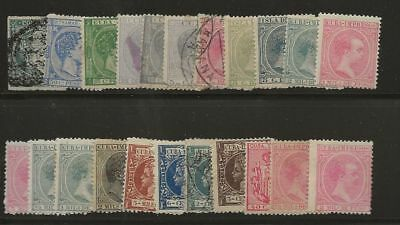 Spanish Caribbean Small Lot Very Old Mh/used Stamps