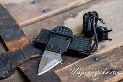 Kershaw AM-6 Neck Knife 8Cr13MoV stainless blade w/lanyard and sheath