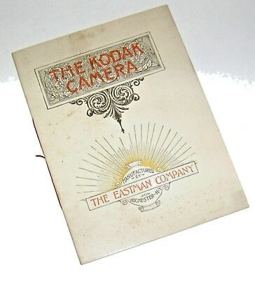 1890 The Eastman Company THE KODAK CAMERA Priced and Illustrated Catalog