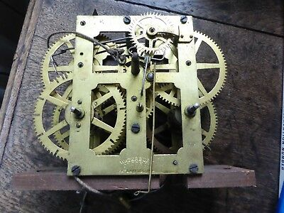 Vintage old clock parts mechanism? Waterbury  Clock Co. Patent Sept 1874