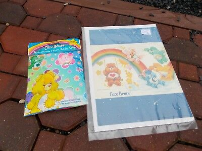Care Bears Bear Vintage Book Cover & Stretchable Fabric Book Cover