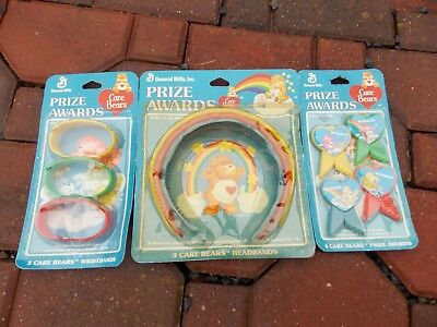 Care Bears Bear Vintage 1980's Birthday Party PRIZE AWARDS (FAVORS) SEALED