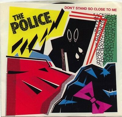 The Police Dont Stand So Close To Me Vinyl Single 7inch A&M