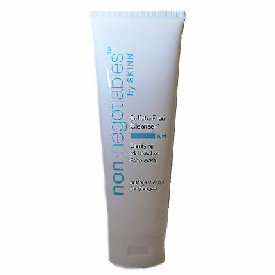 Skinn Cosmetics NEW Sulfate Free Cleanser Clarifying Multi-Action Face Wash 8 oz