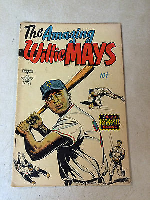 Amazing Willie Mays #nn Baseball, Sport, 1954, Mets, Giants, Tough To Find