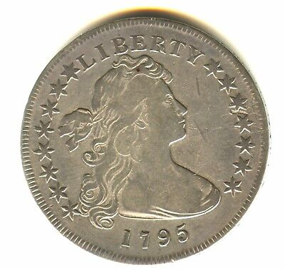 1795 Draped Bust Dollar Small Eagle Fine Details In Grade Check Variety