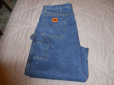 Men's Wrangler Fr  Hrc2 Size 38-34 Used For Plant Workers