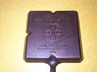 Vintage Griswold Colonial Breakfast Skillet 666 Cast Iron Large Logo Erie, Pa.