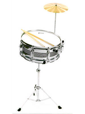 SNARE COMBO KIT  POWERBEAT Stand Cymbal and Sticks