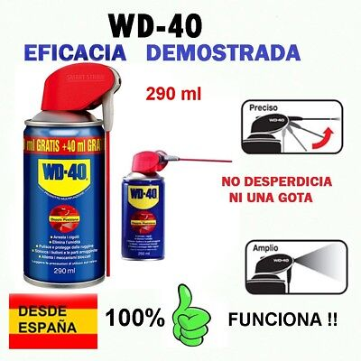 WD-40 - Lubricante Doble Accion MULTIUSOS 290 ml