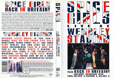 Spice Girls - DVD - Live At Wembley Stadium U.K. 1998 & More - DVD von 2008 - !