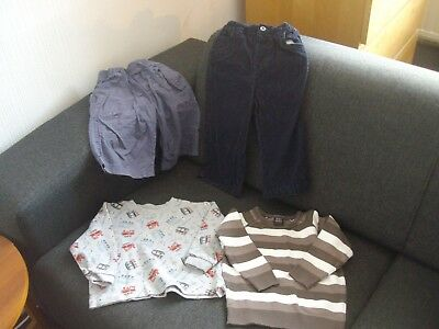 Boys Clothes Bundle ~ 4 Items ~ Next ~ George ~ Mothercare ~ 1.5 - 2 Years