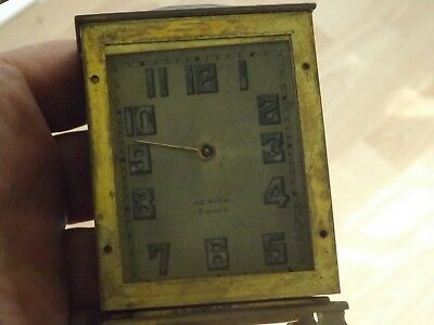 Rare Antique  Zenith Alarm Clock