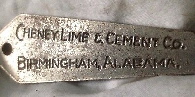 Antique Vintage Tool Advertising Brixmortar Cheney Lime & Cement Birminghan AL