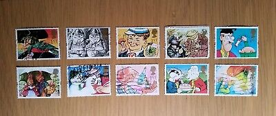 Complete used GB stamp set - 1993 Greetings 'Gift Giving' series